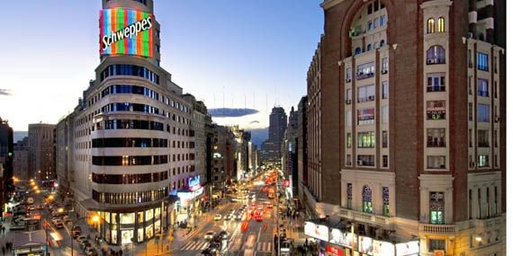 Gran Vía à Madrid