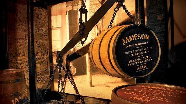 Jameson Distillerie, Irish whisky, Dublin Irlande