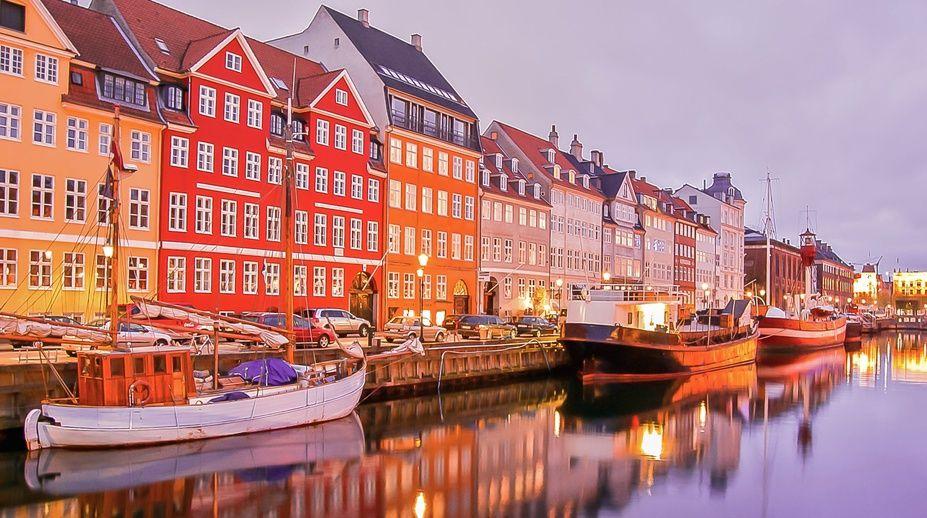 Couchers de soleil, Copenhagen, Denmark