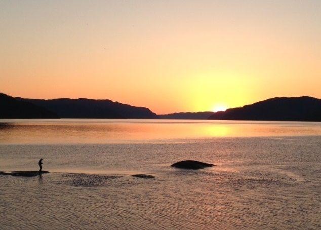 Couchers de soleil au Lac Saguenay Québec