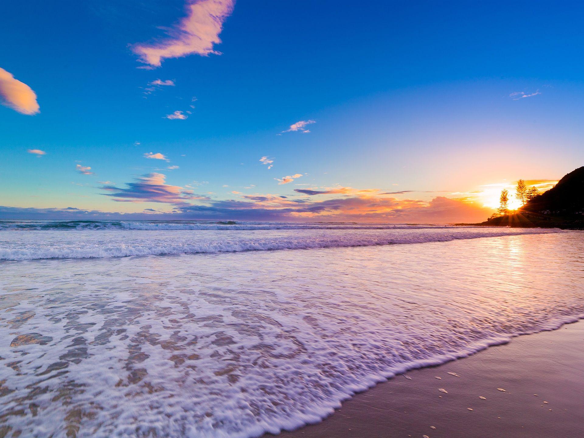 Couchers de soleil, Australie