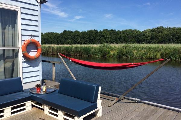 maison sur l'eau Amsterdam