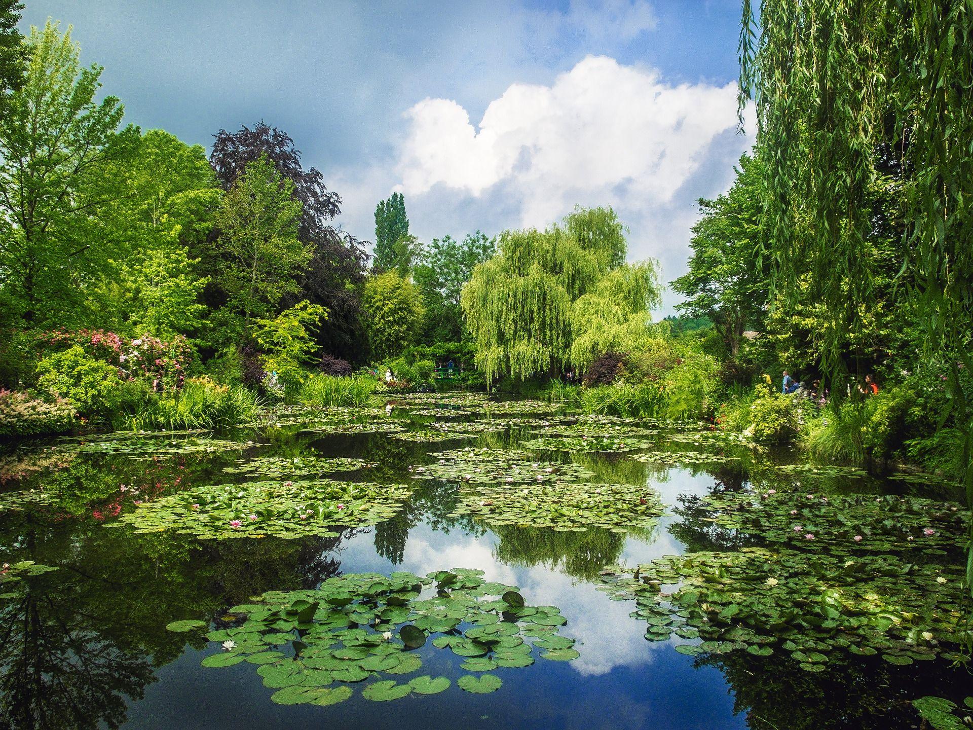 Visiter Giverny en échange de maison