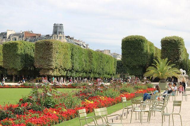 jardin des Tuileries, Paris, idéal en hors saison
