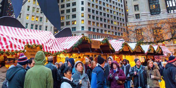 Marché de Noël à Chicago-Échange de maison-HomeExchange