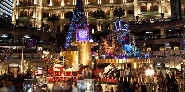 Marché de Noël à Hong-kong-Échange de maison-HomeExchange