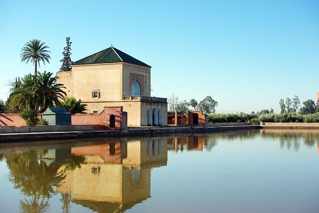 Les jardins de la Ménara à Marrakech, idéal en hors saison