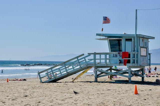 la plage à Los Angeles, idéal en hors saison