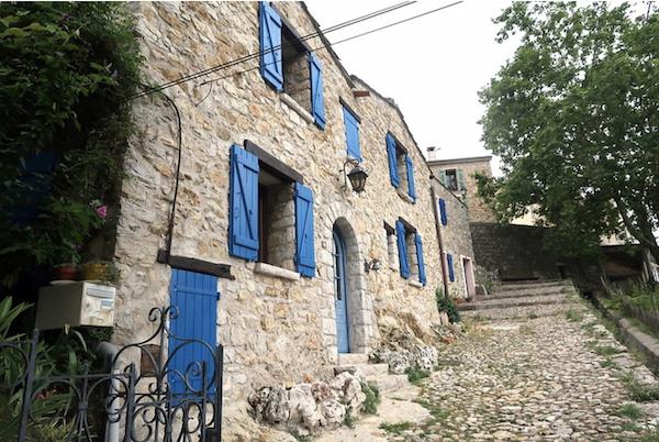 Sainte-Agnes-village-France