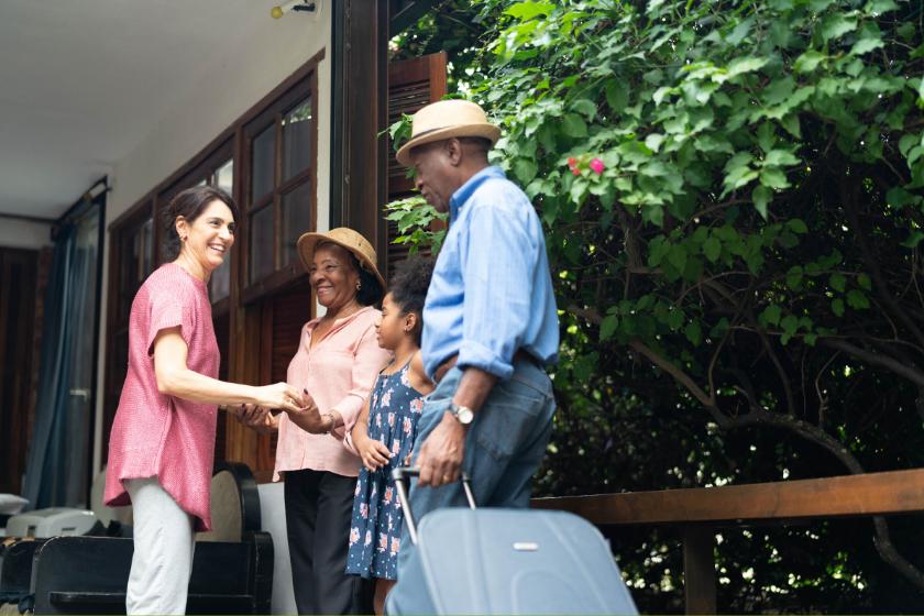 échange de maison rencontres amis famille
