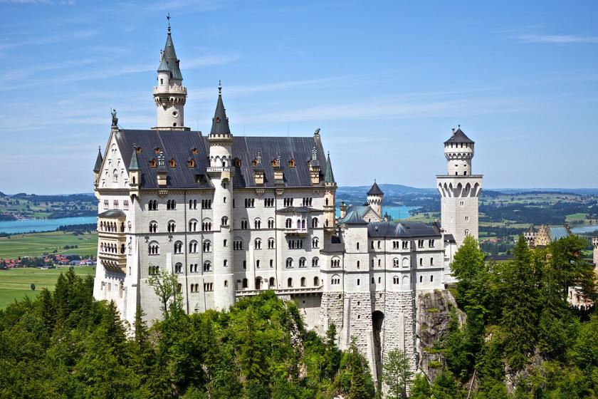 echange de maison randonnée allemagne chateau bayern bavière