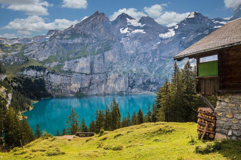 échange de maison kandersteg suisse canton de berne montagne vacances été