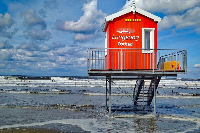 Langeoog-ile-plage-Allemagne