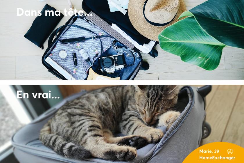 echange de maison astuce 7 pour voyager à la maison préparer sa valise