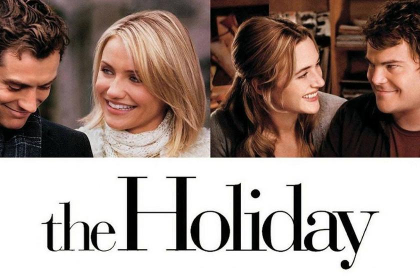 the holiday, film de noel, film romantique, comédie romantique de noel, vacances de noel, échange de maison