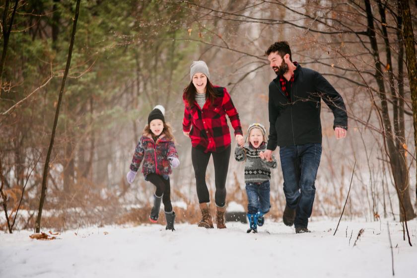 promenade en forêt-noel-activités en famille-noel en famille-echange de maison
