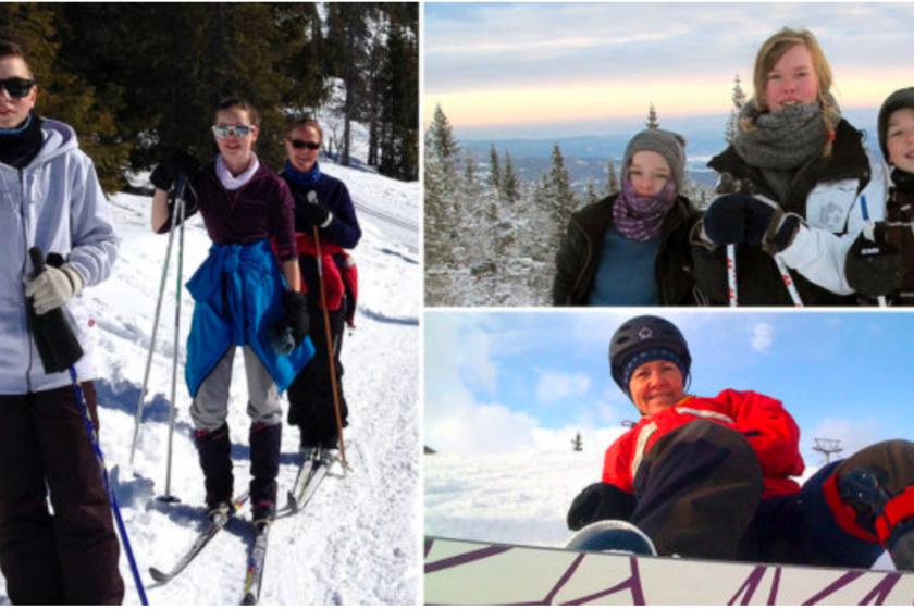 ski-famille-échange-maison