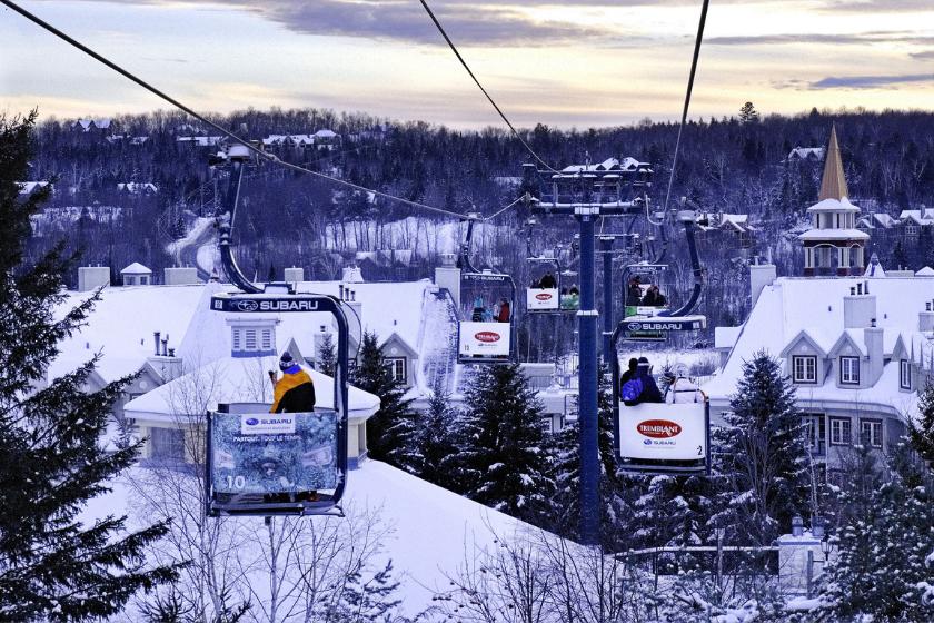Mon-Tremblant-Canada-Station-Ski