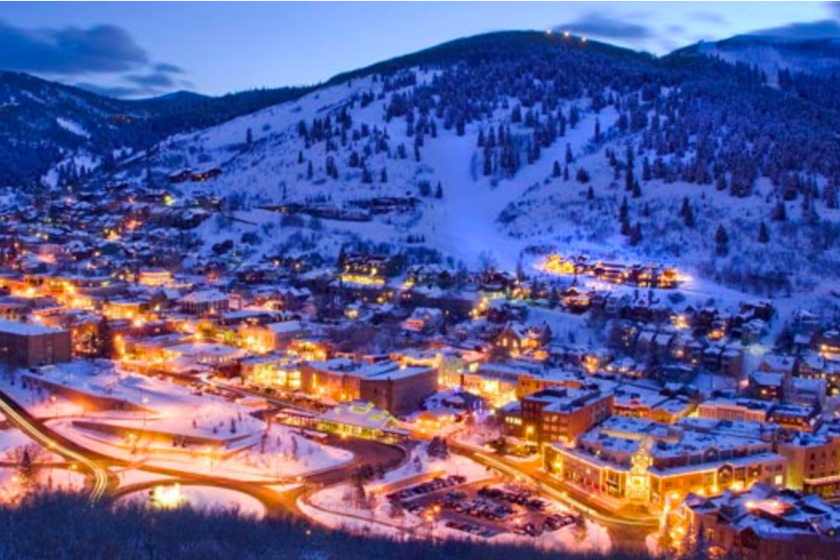 Park City-Utah-USA-Station-Ski