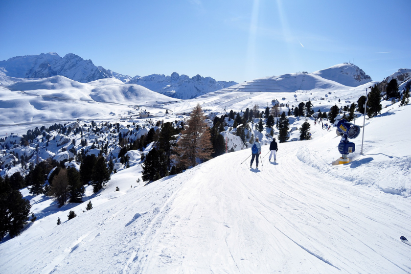 Station-ski-pistes-familles