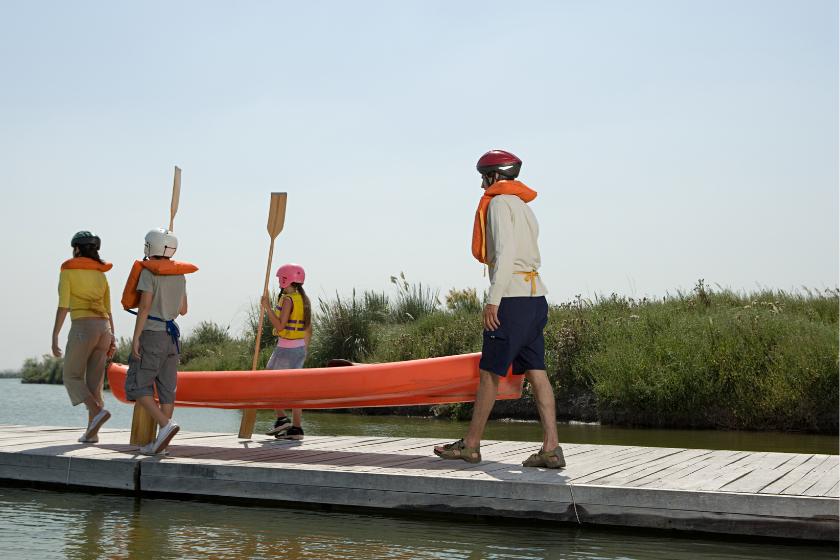 Angers-famille-canoe