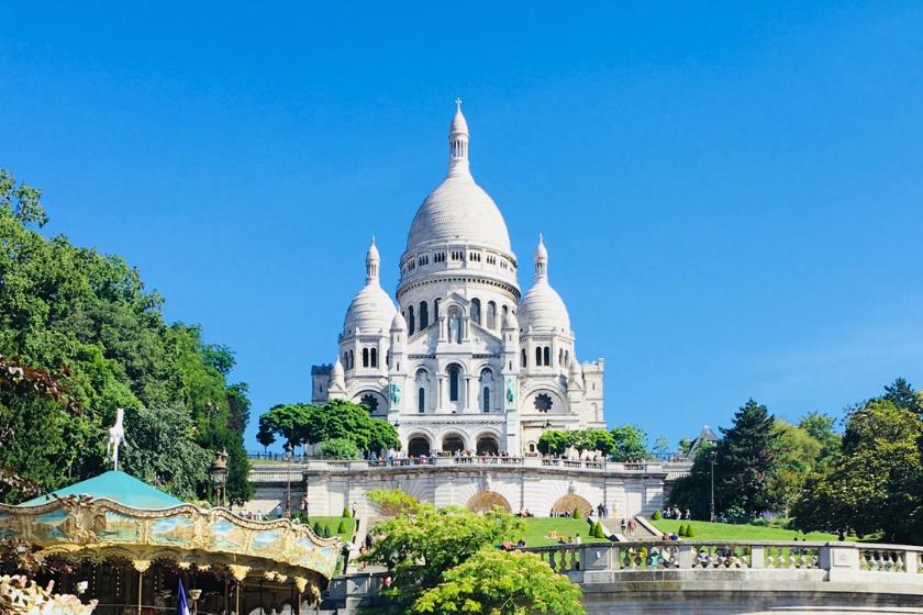 Paris-Montmartre-Sacre-Coeur